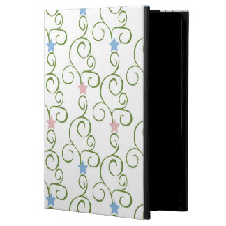 Swirly Floral Stars iPad Air Covers