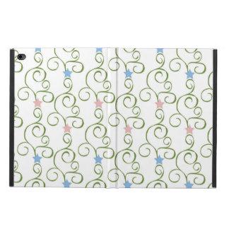 Swirly Floral Stars Powis iPad Air 2 Case