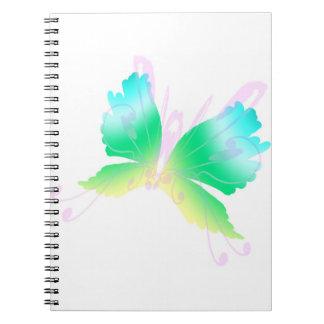 Swirly Fly III Notebook
