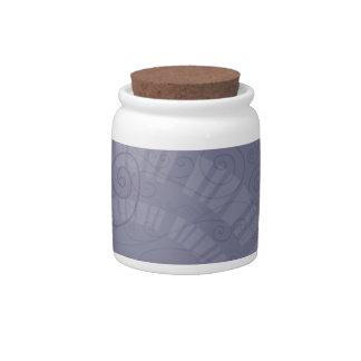 Swirly Fortune Candy Jar