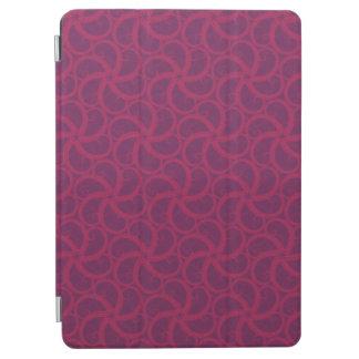 Swirly fractales trippy magentas púrpuras de las cubierta de iPad air