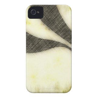 Swirly Grunge Sepia Layout iPhone 4 Case-Mate Case