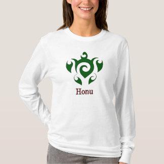 Swirly Hawaiian Green Sea Turtle T-Shirt
