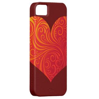 Swirly Heart iphone case iPhone 5 Case
