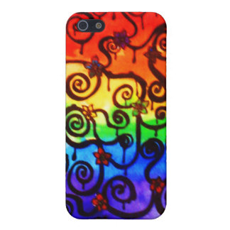 Swirly Cover For iPhone 5