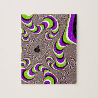 Swirly Jigsaw Puzzle