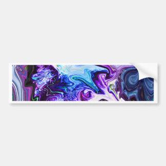 Swirly Journey Bumper Stickers