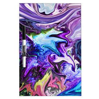 Swirly Journey Dry-Erase Board