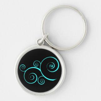 Swirly keychain