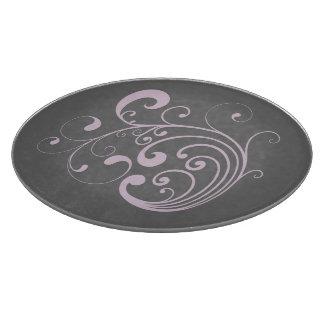 Swirly Lavender Cutting Boards