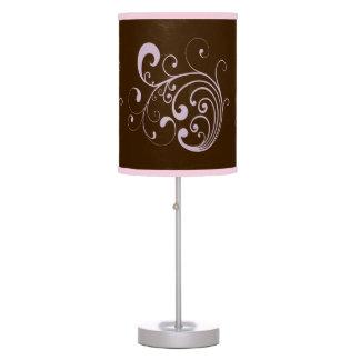 Swirly Lavender Desk Lamp