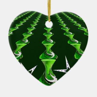 Swirly_Links resized.PNG Ceramic Ornament