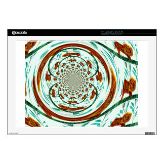"Swirly Lions Wildlife Pattern Skins For 17"" Laptops"