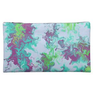 swirly makeup bag