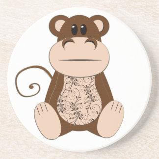 Swirly Monkey Coaster