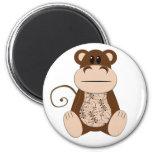 Swirly Monkey Magnet
