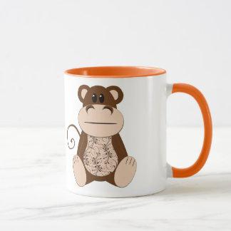 Swirly Monkey Mug