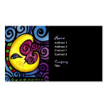 Swirly Moon Business Card