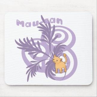 Swirly Mousepad de Mau Tapetes De Ratón