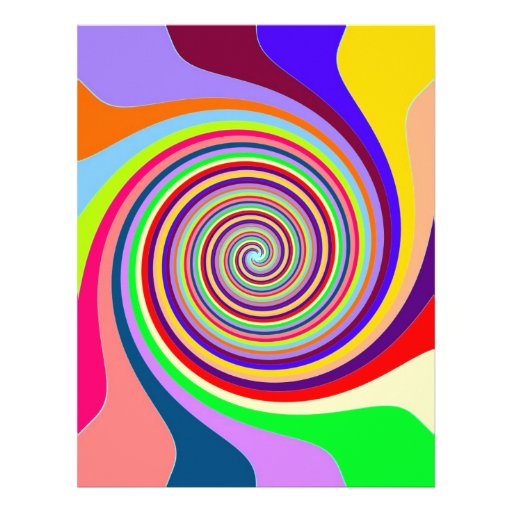 swirly moving to goal and success letterhead