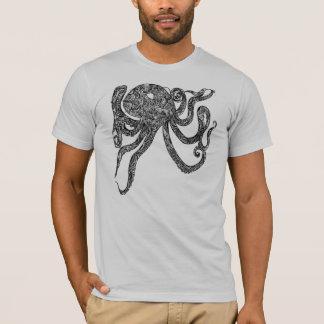 Swirly Octopus - T-Shirt