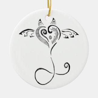 Swirly Christmas Ornament