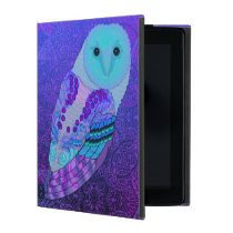 Swirly Owl iPad Folio Case