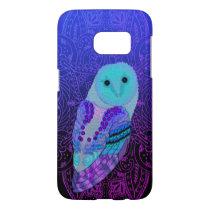 Swirly Owl Samsung Galaxy S7 Case