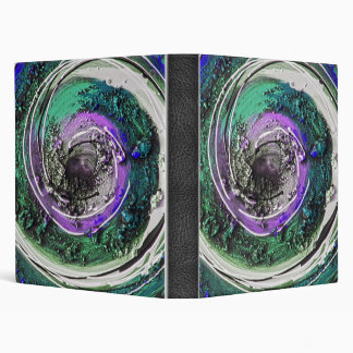 Swirly Paint Daubs Binder