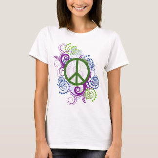 Swirly Peace Shirt