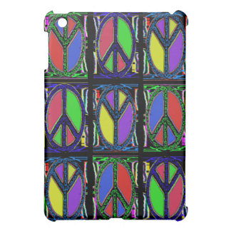 Swirly Peace Sign Cover For The iPad Mini