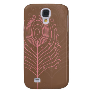 Swirly Peacock Feathers iPhone 3G Case Galaxy S4 Case