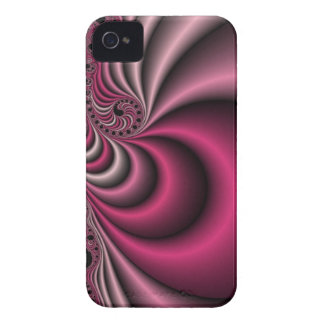 swirly pink iPhone 4 cover