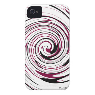 Swirly Record iPhone 4 Cover