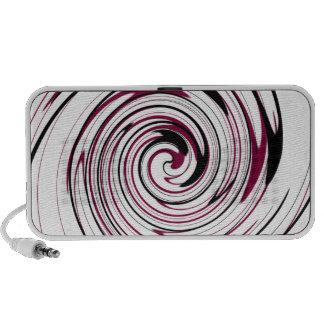 Swirly Record Speaker System