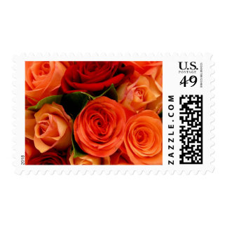 Swirly Roses Bouquet Stamp