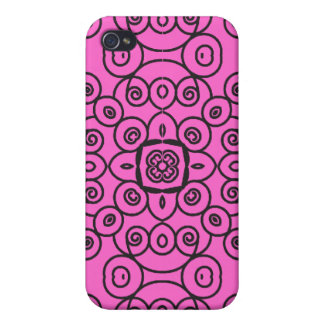 Swirly Seamless Pattern 1 iPhone 4/4S Cover