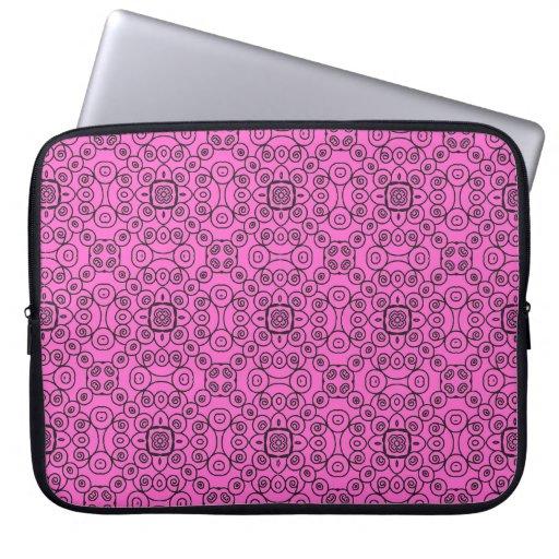 Swirly Seamless Pattern 1 Laptop Sleeve