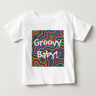 Swirly Shades of Colour Infant T-shirt