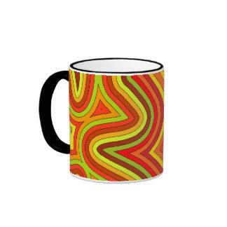 Swirly Shades of Warmth Mug