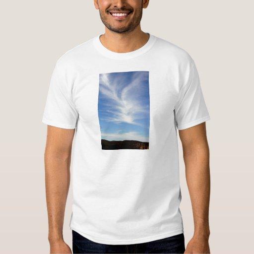 Swirly Sky Tshirts
