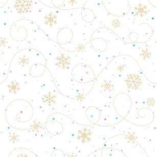 Snowflake Craft Tissue Paper | Zazzle