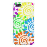 Swirly Sunshine Flowers iPhone 5/5S Case