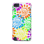 Swirly Sunshine Flowers iPod Touch 5G Covers