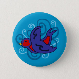 Swirly Swallow Button