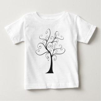 Swirly Tree T Shirt