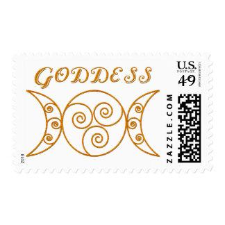 Swirly Triple Goddess Symbol Stamps