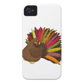 Swirly Turkey Case-Mate iPhone 4 Case