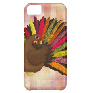 Swirly Turkey Cover For iPhone 5C