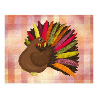Swirly Turkey Flyer
